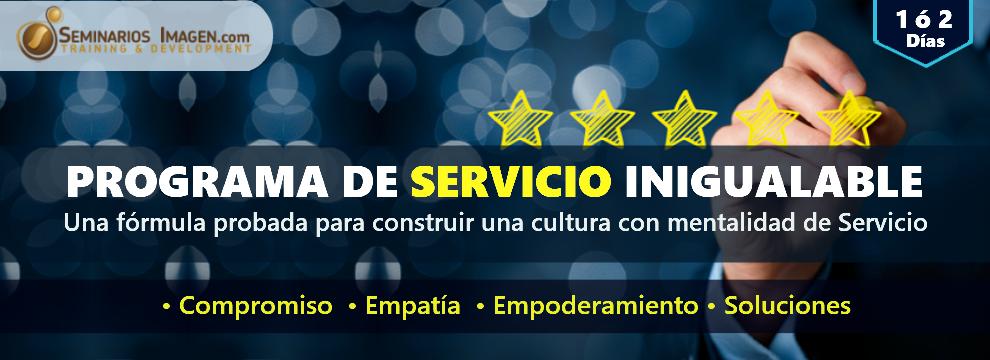 PROGRAMA DE SERVICIO INIGUALABLE
